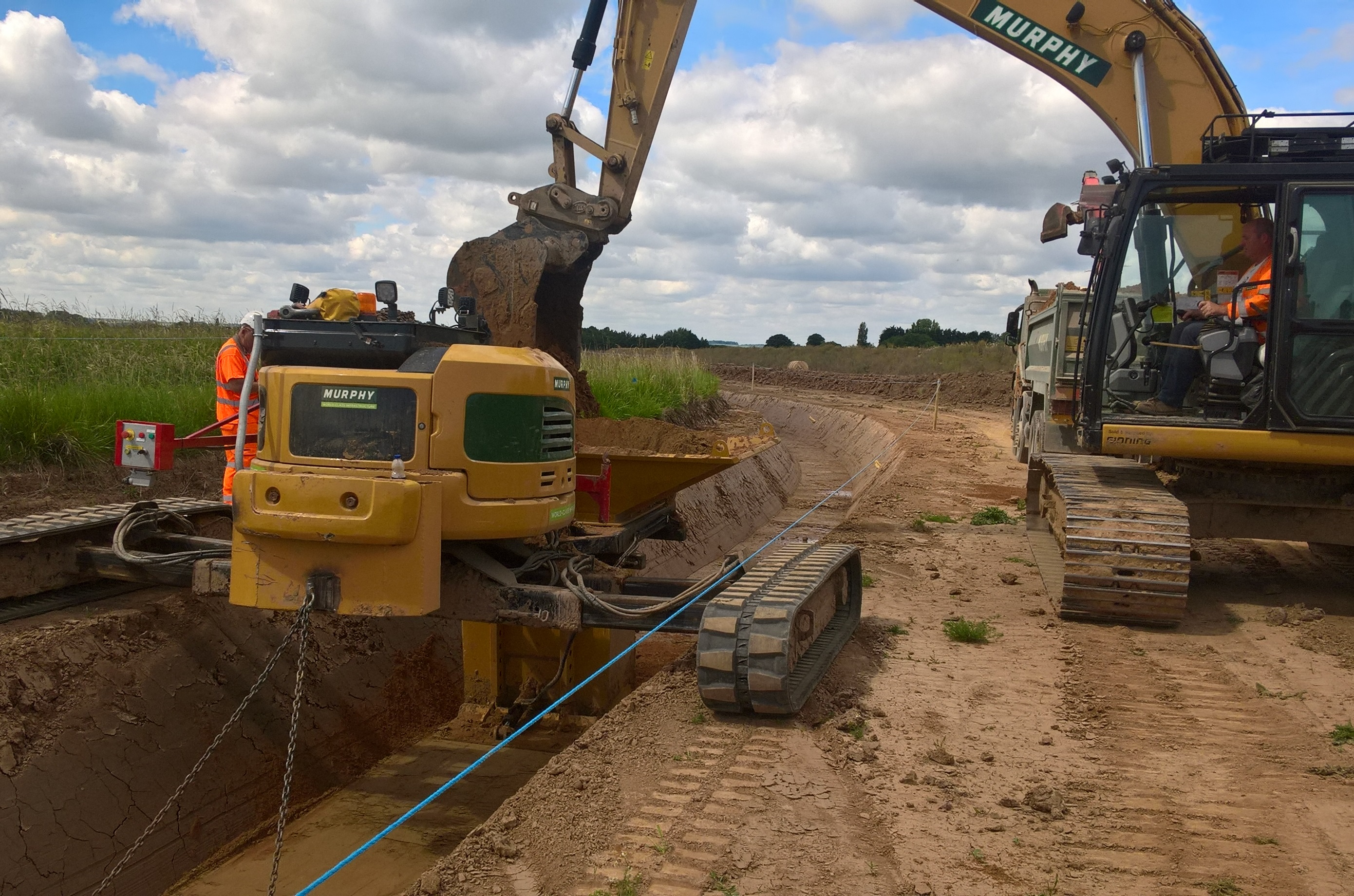 Triton Knoll appoints UK firm J Murphy & Sons Limited to deliver 'unprecedented' cable installation