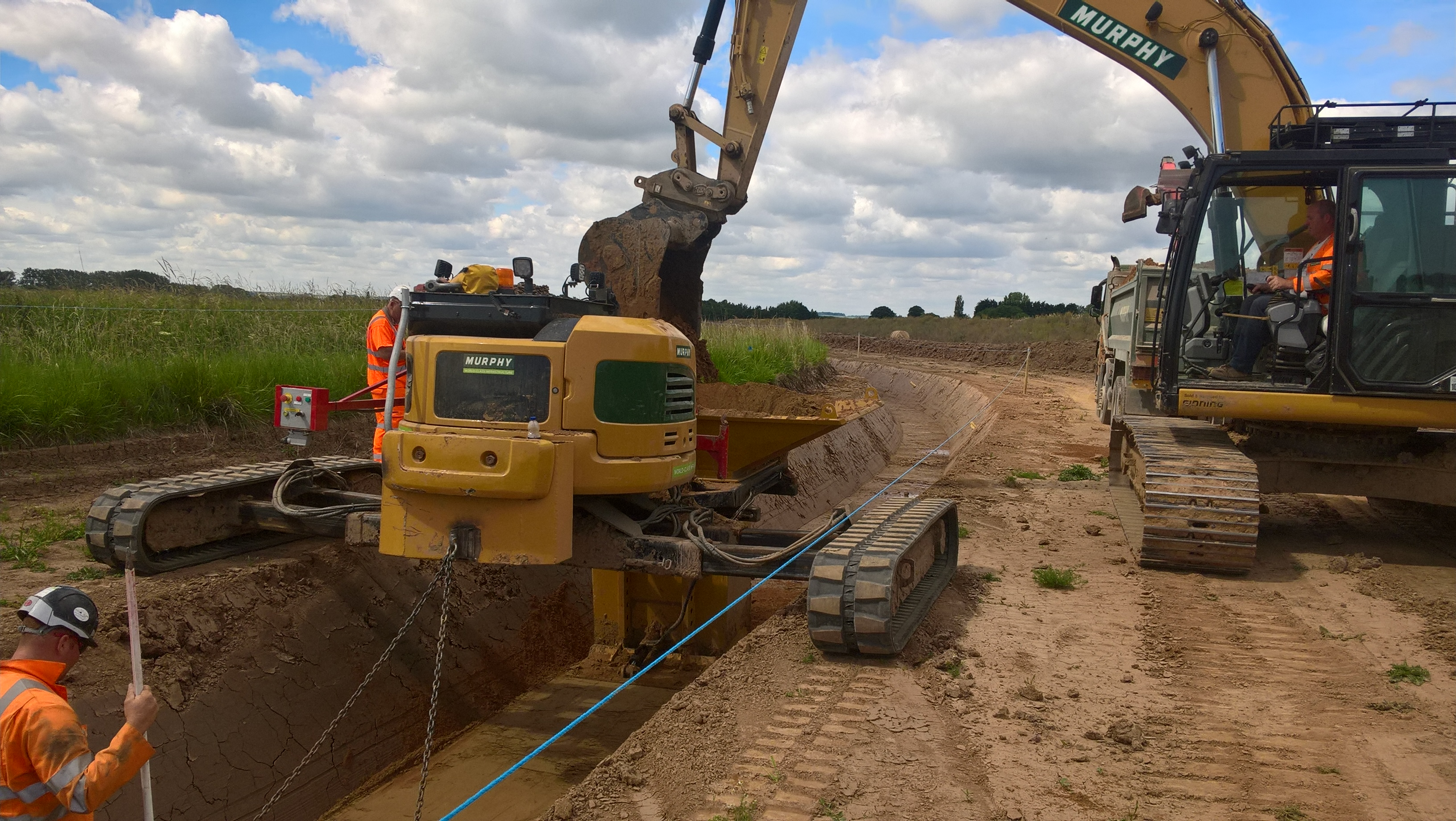 Triton Knoll agrees major construction contract with UK firm J Murphy & Sons Limited