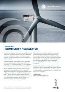 Latest Community Newsletter is online now
