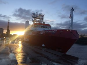 Triton Knoll goes offshore with Fugro as it steps-up construction preparations