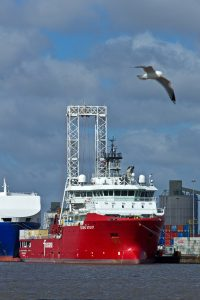 innogy's Triton Knoll uses state-of-the-art geotech vessel to test foundation locations