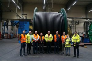 First onshore electrical cables for Triton Knoll