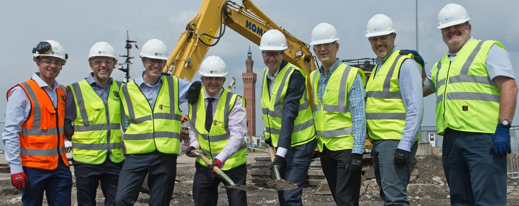 Tolent to build Triton Knoll's new base on Grimsby's Royal Dock