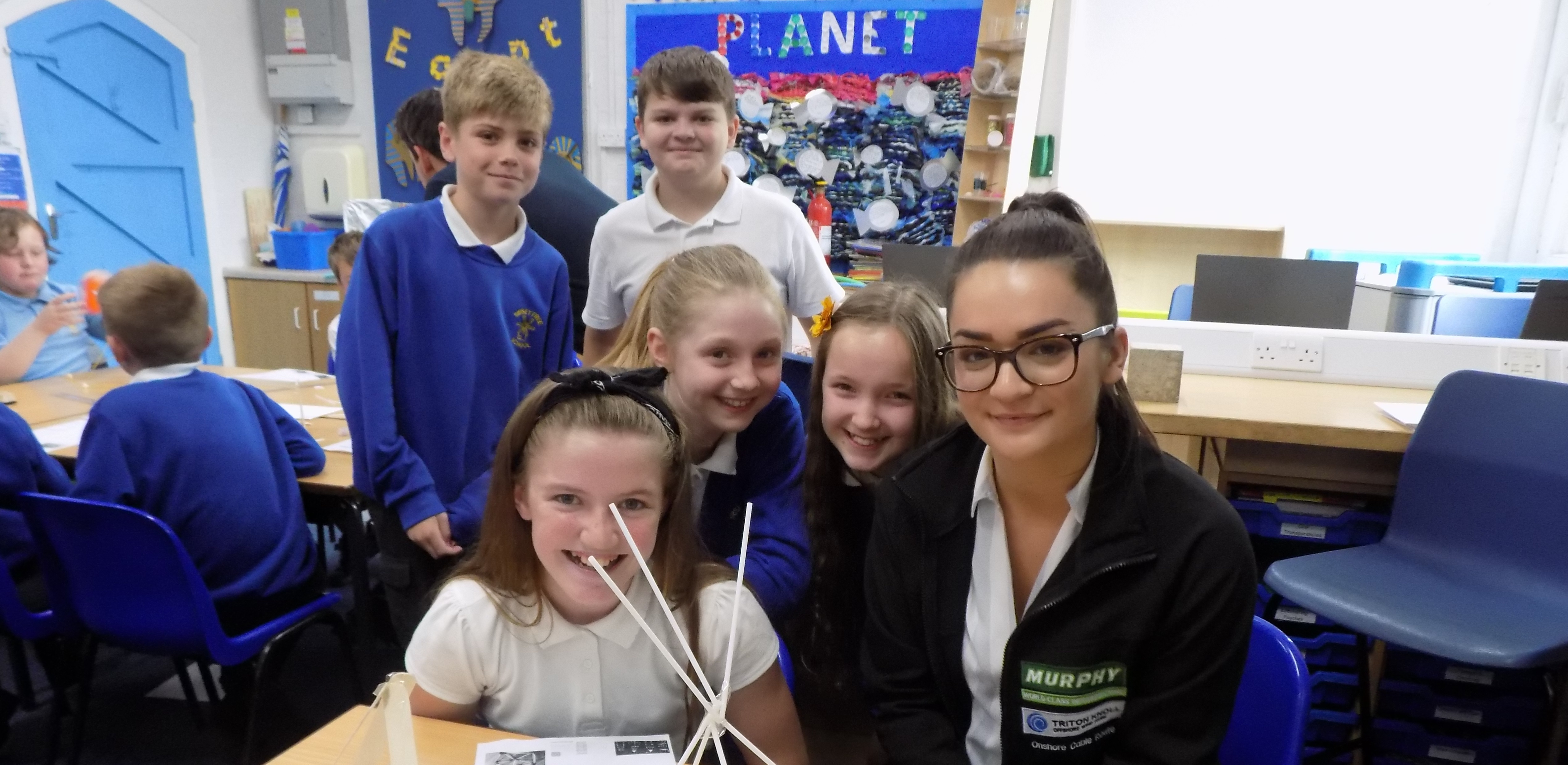 Triton Knoll educates Lincolnshire children about offshore wind