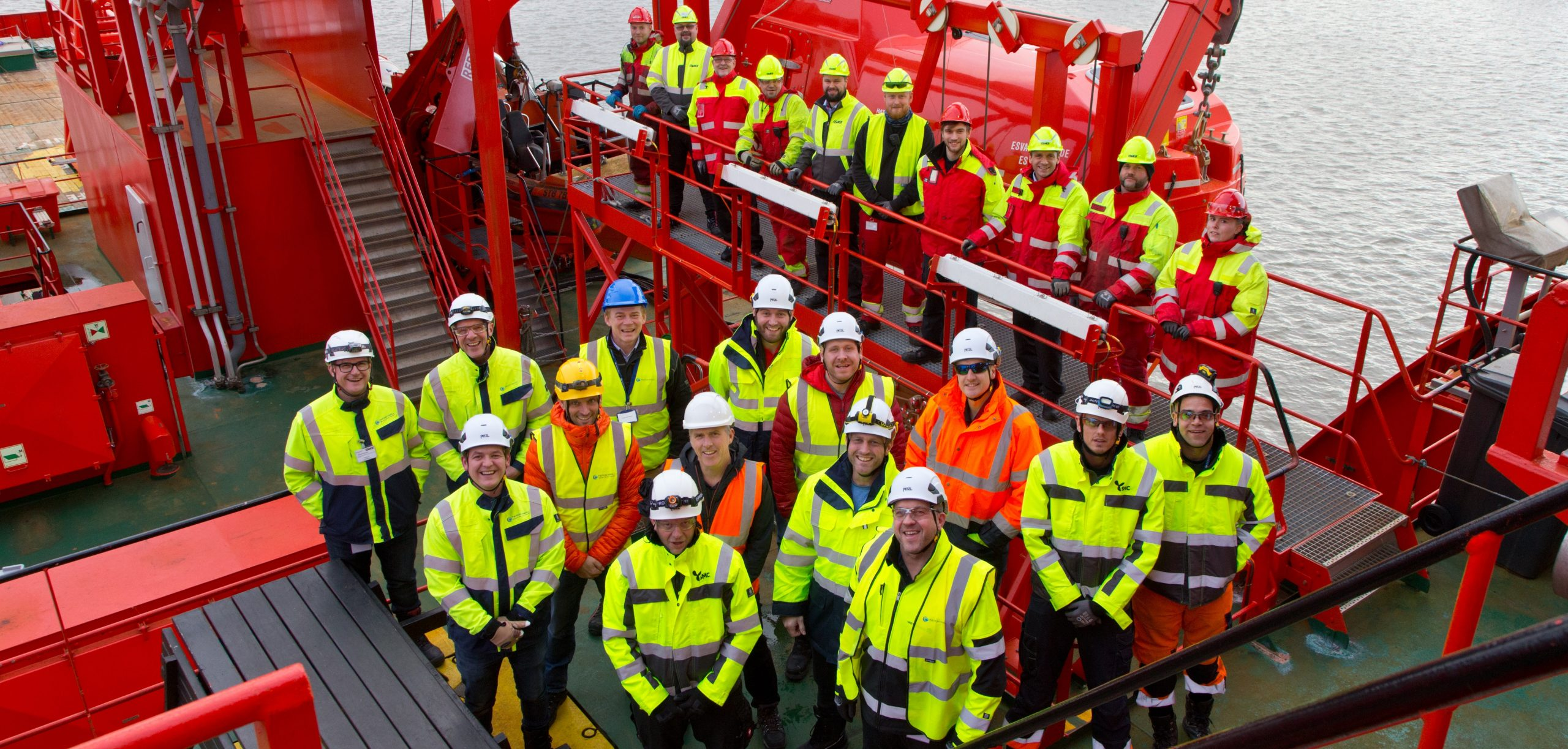 Meet the team managing construction of Triton Knoll 32 km offshore